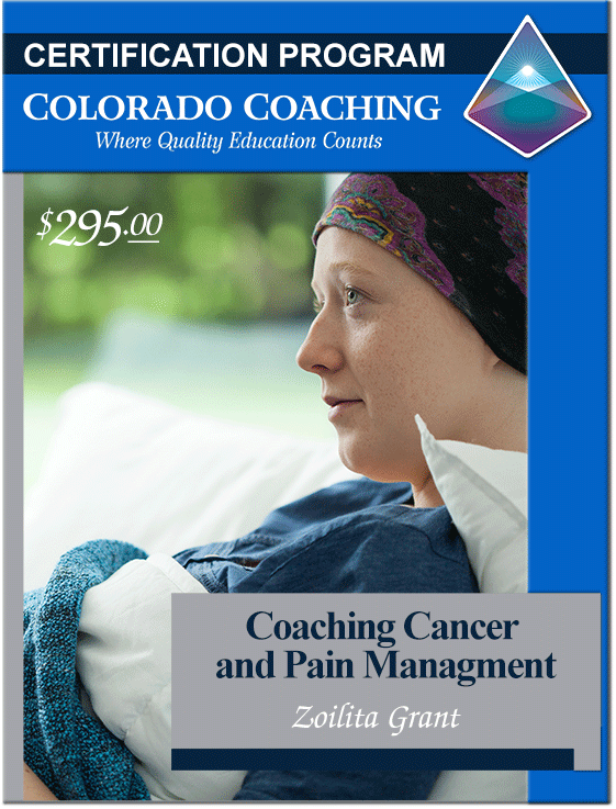 Certification Program - Coaching Cancer and Pain Management